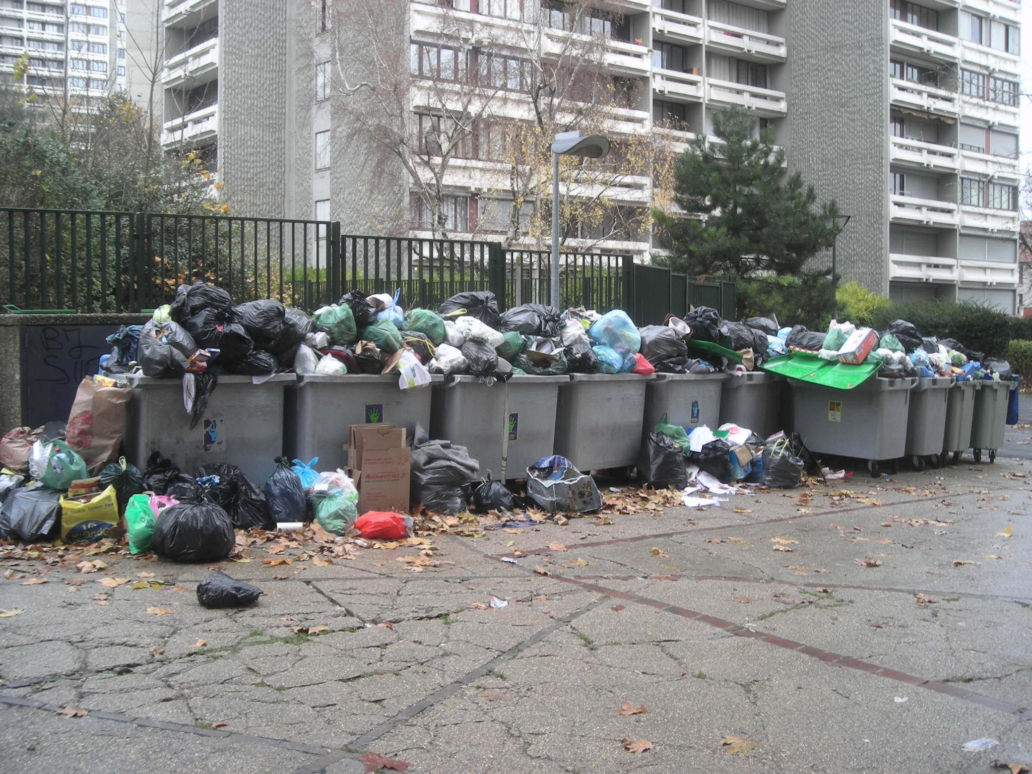 Un Week-end parmi les poubelles...